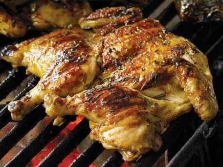 Poulet grillé à la portugaise