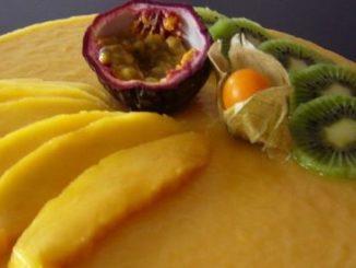 Semi froid noix de coco et mangue