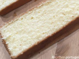 Génoise sans beurre ni levure